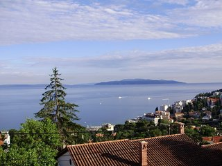 Spacious apartment in the center of Opatija with Parking, Internet, Balcony, Ter
