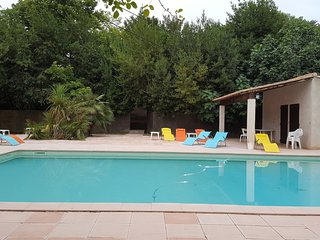 Spacious house in Lagrasse with Parking, Internet, Washing machine, Pool