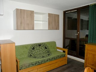 Cosy studio close to the center of Venosc with Lift, Parking, Balcony
