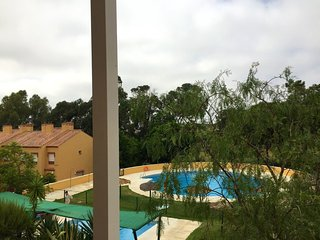 Spacious apartment in Isla Cristina with Lift, Parking, Washing machine, Air con