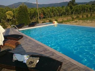 Cosy studio in the center of Podere Viti with Parking, Air conditioning, Pool, G