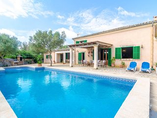 Spacious villa in Felanitx with Parking, Internet, Washing machine, Pool