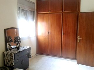 Spacious apartment in Casablanca with Parking, Washing machine, Terrace