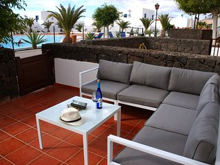 Cozy villa in Puerto Calero with Internet, Washing machine, Pool, Balcony