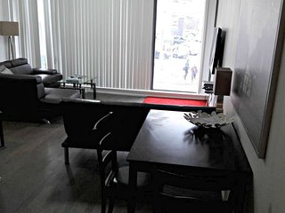 Cozy apartment close to the center of Toronto with Parking, Internet, Washing ma