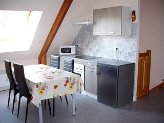 Spacious apartment in La Baule-Escoublac with Parking, Internet, Garden, Terrace