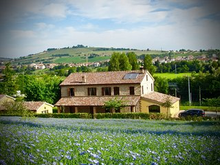 Cozy house in the center of Castelbellino with Parking, Internet, Washing machin