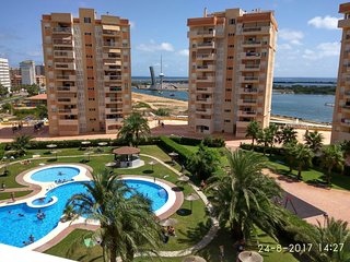 Spacious apartment in Cartagena with Lift, Parking, Internet, Washing machine