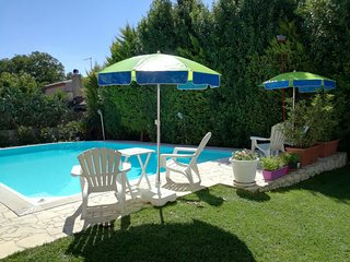 Cozy villa in Conservatore with Parking, Internet, Washing machine, Air conditio