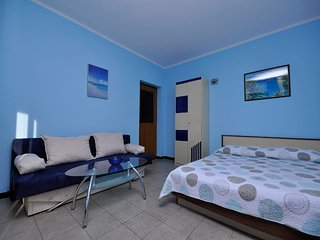 Cozy apartment very close to the centre of Novigrad with Parking, Internet, Air