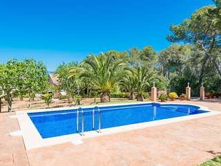 Spacious villa in Santa Maria del Camí with Parking, Internet, Washing machine,