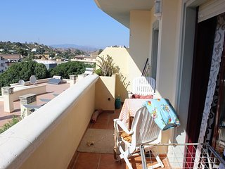 Spacious apartment in Coín with Lift, Parking, Washing machine, Terrace