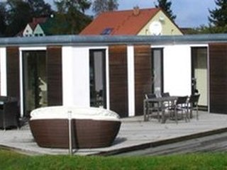 Cozy bungalow in the center of Ueckermünde with Parking, Garden, Terrace
