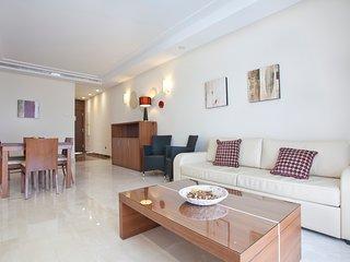 Beachfront and luxury apartment in Estepona, Costa del Sol.