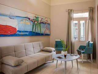 Cozy apartment in the center of Chania with Internet, Air conditioning