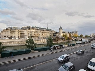 LUXURY 3 BR/ 3 BATH APT IN SAINT GERMAIN WITH VIEWS OF NOTRE DAME AND SEINE