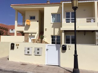 Spacious apartment in Puerto del Rosario with Internet, Washing machine, Terrace