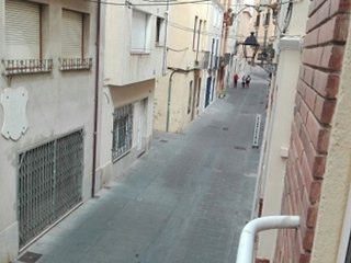 Apartment in the center 100 meters from the beach with a.c.