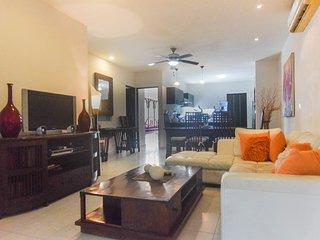 Spacious, fresh and comfortable living room.