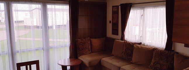 8 berth (3 Bed)Caravan on West Sands Bunn Leisure