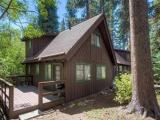 Great Tahoe Cabin in Charming Forest Setting