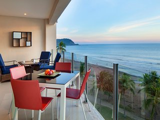 Exclusive ocean front 3BR Apartment Diamante del sol 701S