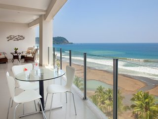 Deluxe ocean front 4BR apartment at  Diamante del sol 701N