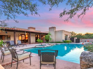 Gated Southwest property next to Sabino Canyon State Park and Catalina Mountains