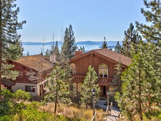 Roomy chalet w/  views, near lake & slopes, dogs ok!