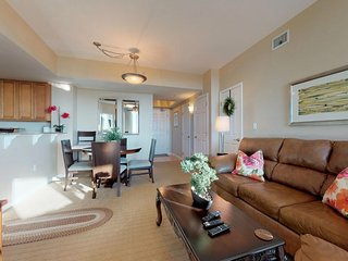 NEW LISTING! Beautiful resort condo with shared pool and amazing beach views