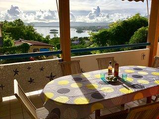 Maison 3chambres, vue imprenable sur la mer des caraibes.