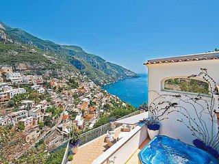 Positano Villa Sleeps 12 with Pool Air Con and WiFi - 5228754