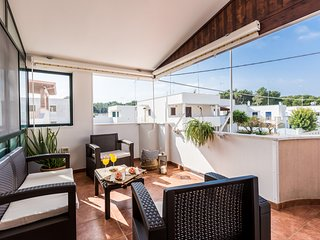 Spacious apartment in Specchiolla with Washing machine, Air conditioning, Balcon