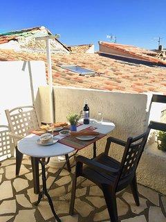 Sun terrace with BBQ