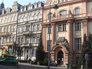 Spacious apartment in the center of Karlovy Vary with Internet, Washing machine