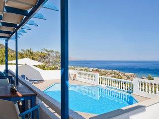 Villa Afroditi, vue epoustouflante sur mer