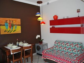 Cozy apartment in Rome with Internet, Washing machine, Air conditioning, Terrace