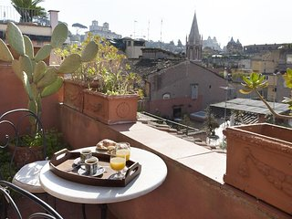 Cosy studio very close to the centre of Rome with Internet, Air conditioning, Te
