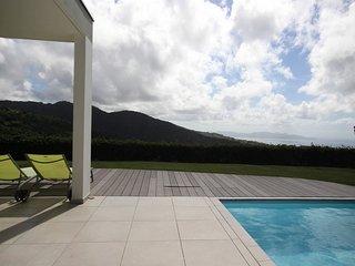 Villa Fleur de Mangue: vue mer d'exception & piscine