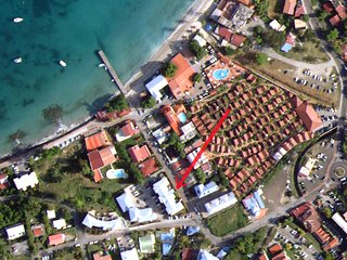 MARTINIQUE:Nice apartment 50 meters from the beach