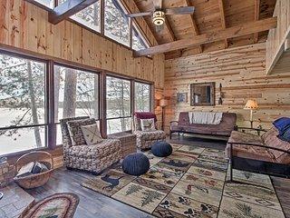 NEW! 'Loon Lake Lodge' w/ Dock, Sauna & Hot Tub!