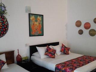Situated close to the beach, Anara villa offers pe
