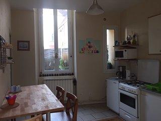 Appartement Cosy 4 personnes avec cour privee