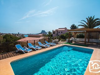2 bedroom Villa in Calpe, Valencia, Spain : ref 5401420