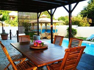 Villa with swimming pool, near Le Diamant beach (MQDI23)