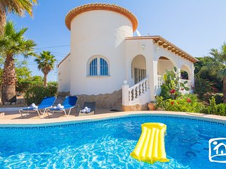 3 bedroom Villa in Calpe, Valencia, Spain : ref 5401564
