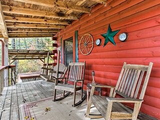 NEW! Bryson City Cabin w/Deck Near Smoky Mountains