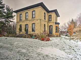 NEW! Historic Farmhouse - 20 Mins to Grand Rapids!