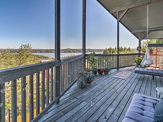 NEW! Point Venture House w/ Views of Lake Travis!