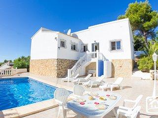 2 bedroom Villa in Moraira, Valencia, Spain : ref 5401389